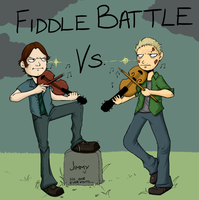 SPN FIDDLE BATTLE by kuroineko
