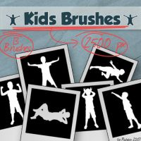 Kids Brushes by isa-pinheiro