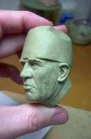 Sheriff Hoyt -R.Lee Ermey by TKMillerSculpt