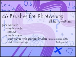 46 photoshop brushes by catgirl93