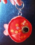 Goldfish keychain by wiegand90