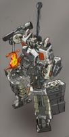 Megatron Decepticon Leader by commanderlewis