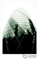 The Gherkin 04 by IcemanUK