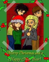 Christmas Card by InTheShadowsOTheMoon