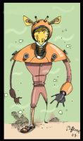 giraffe from under the sea by spurs06