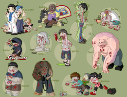 L4D2 Chibified by Blaze-Bernatt