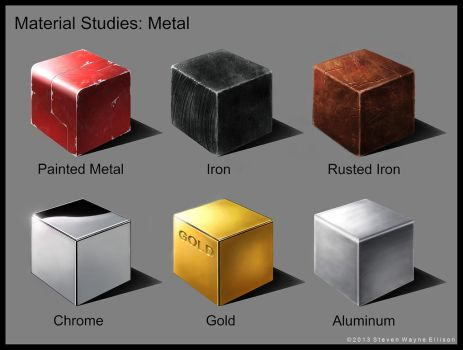 Metal Studies by MysterSynyster