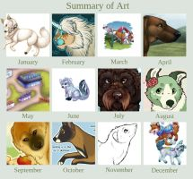 Summary of art 2012 by sotee