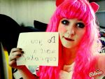 cosplay do u want a cupcake #1 by NENEBUBBLEELOVER