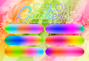 Colors and more color gradients by HoneyBrooks