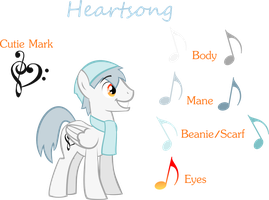 Heartsong reference sheet by kilecroc