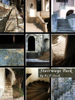 Stairways Pack by ALP-Stock