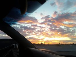Sunset Drive by violinsane