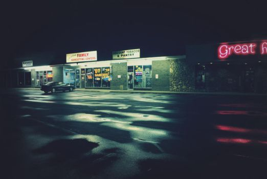 one stop. by dressONbackward-