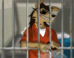 Luke behind the bars by Daunus