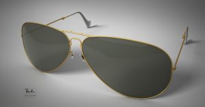 Ray Ban Aviator by abdelrahman