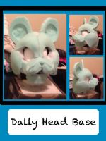 Saber Tooth Cat Head Base WIP by Dallywag