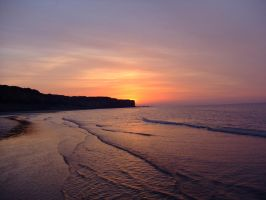 Sunset Normandy 003 by Maxime-Jeanne