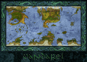 Vandarei Map by Siobhan68