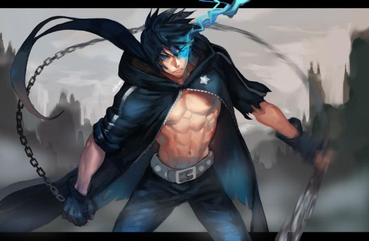 Black Rock Shooter (Male Genderbend) by na-insoo