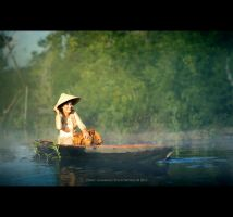 Beauty Canoeing by perigunawan