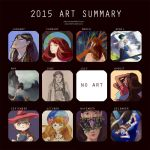 Art Summary 2015 by Yiamme