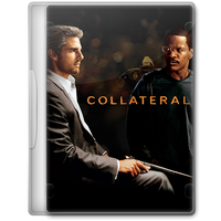 Collateral (2004) Movie DVD Icon by A-Jaded-Smithy