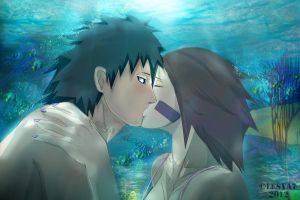 Obito and Rin: Breathe with me... by Lesya7