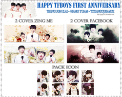 [142707] Happy TFBoys First Anniversary by PyPy192