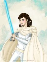 Jedi Audrey by sketchditto