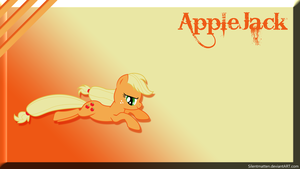 Applejack Wallpaper by Silentmatten