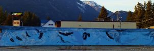 Wall of eagles by lucium55