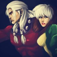 Stream - AoA Magneto and Rogue by RizCifra