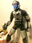 Dead Space model statue for sale by johnstewartart