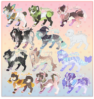 Doggy Adoptables [ CLOSED ] by Plumbeck