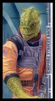 Bossk color web by roberthendrickson