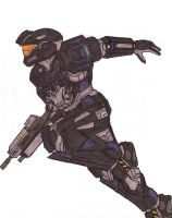 Halo Reach Spartan by Fantasy34