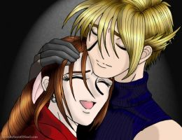 Cloud and Aerith-Reunion -FFI- by AerithReborn