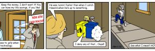 Summer Wine Comic 35 by MST3Claye