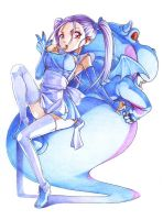 """Bouquet of Blue Dragon """"Trad."""" by jaypao"""