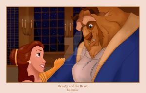 Beauty and the Beast by bananacosmicgirl