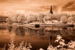 Trondheim River And Cathedral by robpolder