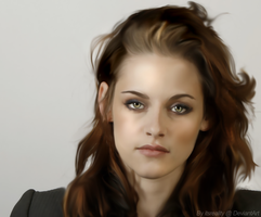Kristen Stewart Digi Painting by itsreality