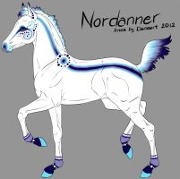 Nordannerfoal 2860 -designholder- by saphiraly