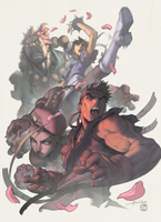Street Fighter by DennisBell