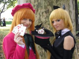 Saint Tail e Meimi  - cosplay 2 by Lydia3290