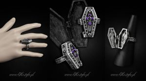 Coffin Chest Ring by Euflonica