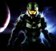 Master Chief - Painting by lDBCl