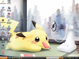 My Desktop. May 29th 2009 by Miya902