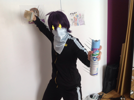 Yato Cleaning Cosplay by UsagiNoAka
